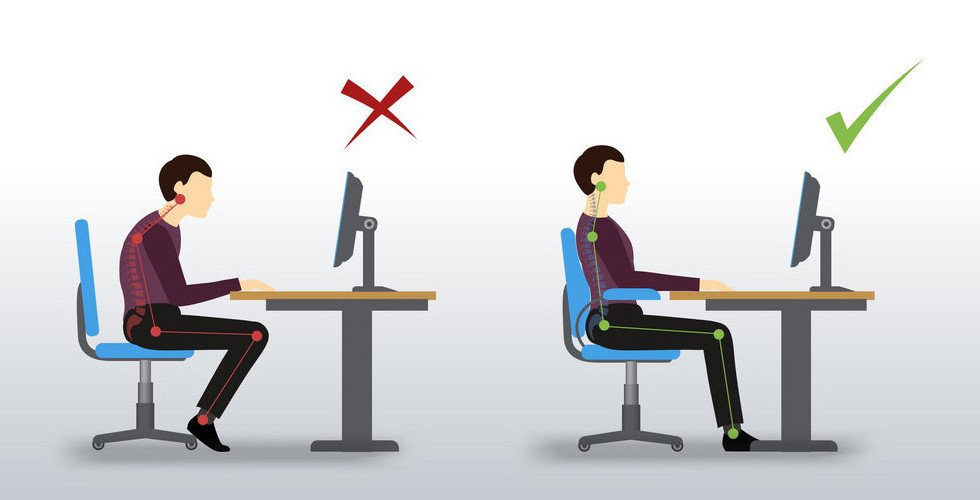 What Is The Perfect Sitting Posture?